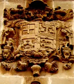 Escudo de Don Francisco Tobía y Ubago