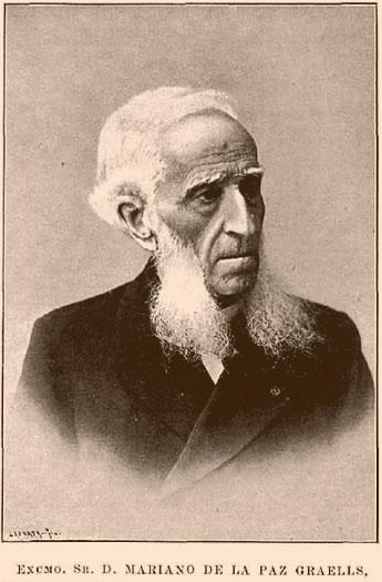 Resultado de imagen de Mariano de la Paz Graells